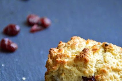 Scones mit Cranberries