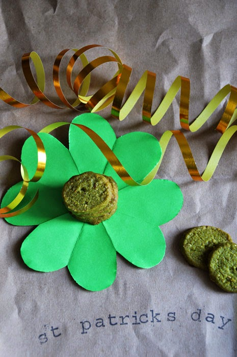 St. Patricks Day und Matcha Kekse