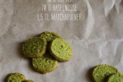 St. Patricks Day und Matcha-Kekse