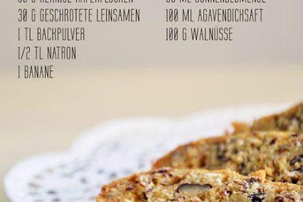 Veganes Frühstücksbrot und 'Lust auf Vegan' [Buch-Rezension]