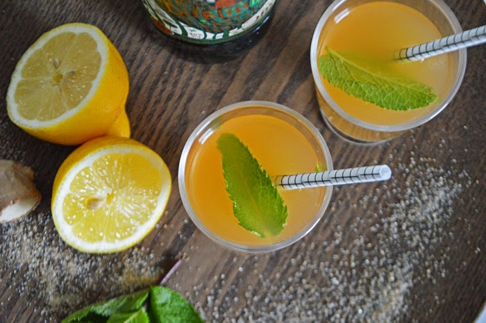 Weekend Whiskey - mit Ginger-Lemon-Limonade