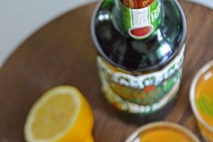 Weekend Whiskey - mit Ginger-Lemon-Limonade