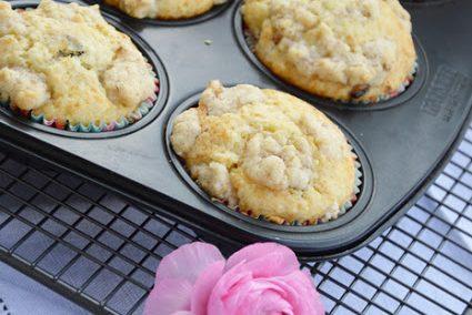 Köstliche Apfel-Muffins mit Mandelstreusel