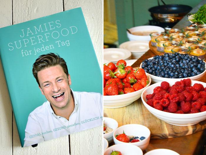 Eine Einladung vom DK Verlag, eine Buchrezension, ein Brotrezept oder der Tag, an dem Jamie Oliver mich im Arm hielt