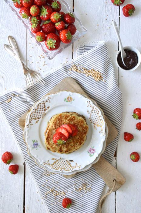 Vegan! Pancakes mit Amaranth Vegan! Pancakes mit Amaranth