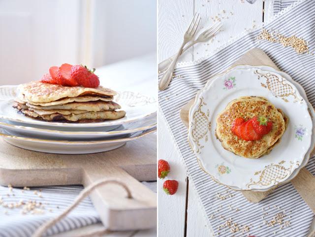 Vegan! Pancakes mit Amaranth und eine Überraschungsbox [Geheimtipp]