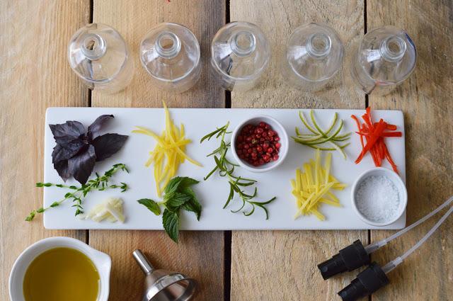 Gesprühtes Aromen-Glück für den Salat: Essig & Öl [DIY]