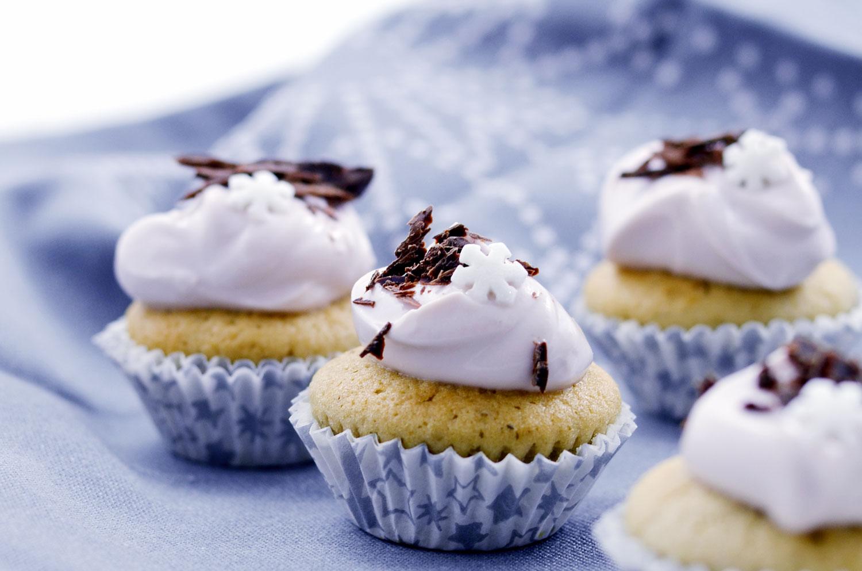 weihnachtliche Glühweinmuffins