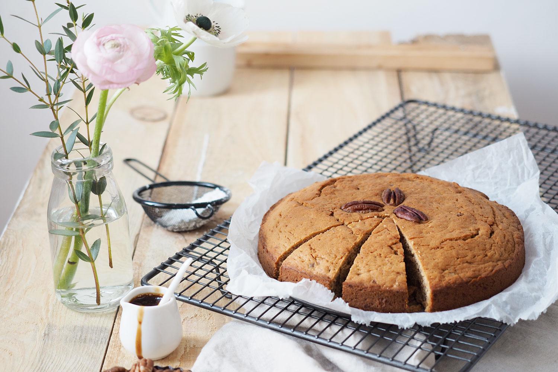 Veganer Pekanuss-Kuchen und ein ganz besonderer Auftritt in der Schrot&Korn