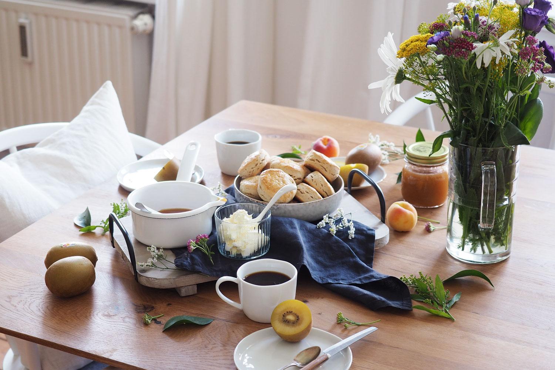 scones & kiwis: Für einen ganz entspannten Start in den Tag!