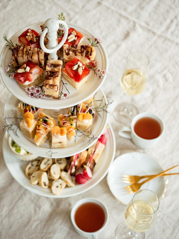 Britischen Afternoon Tea