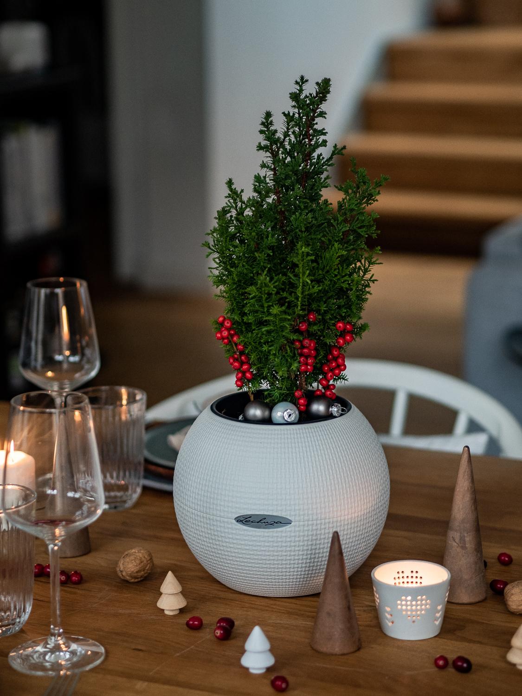 Tischdekoration Weihnachten