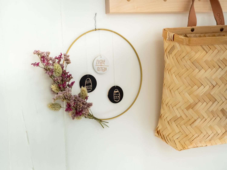 DIY - Wandkranz zu Ostern