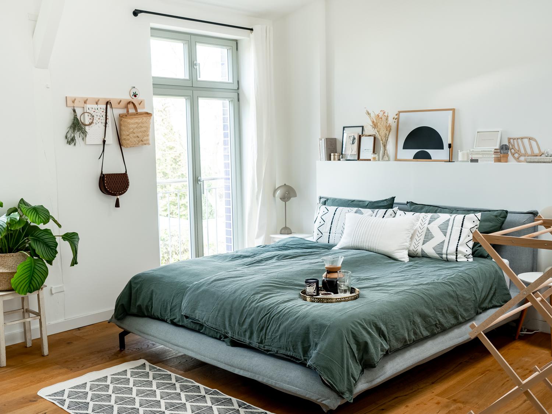 Roomtour Schlafzimmer natürliche Deko