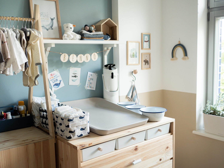 DIY Wickelkommode für das Babyzimmer mit IKEA Ivar
