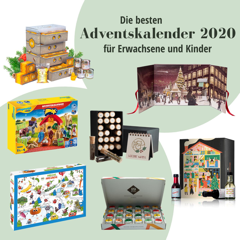 Die besten Adventskalender 2020 für Erwachsene und Kinder